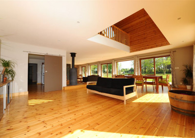 4-TIRO - Timber Frame Homes Interior