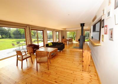 6-TIRO - Timber Frame Homes Interior