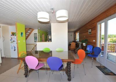 13-TIRO - Timber Frame Homes Interior