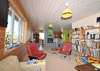 14-TIRO - Timber Frame Homes Interior