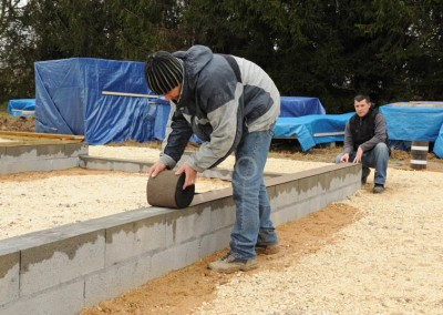 1-Damp proof course