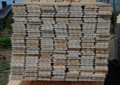 Panelling pine