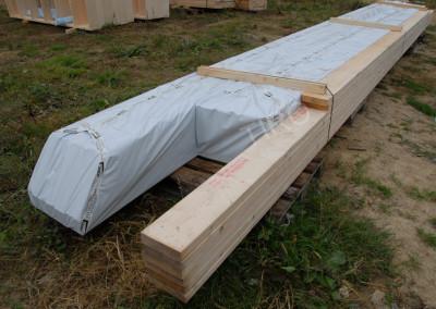 1-Bottom chord (45° roof truss)