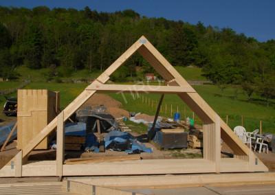 1-Roof truss 45°