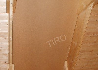 1-Hardboard panels for roof ventilation