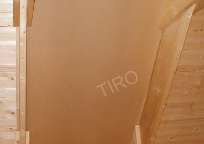 1-Hardboard panels for roof ventilation