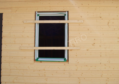 Positioning of window