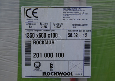 1-Semi-rigid Rockwool panels