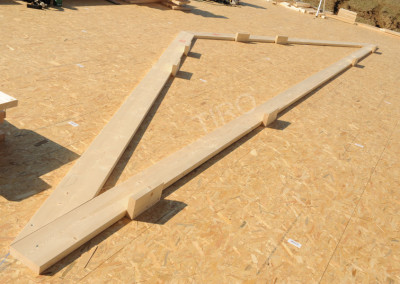1-Rafters (30° roof trusses)