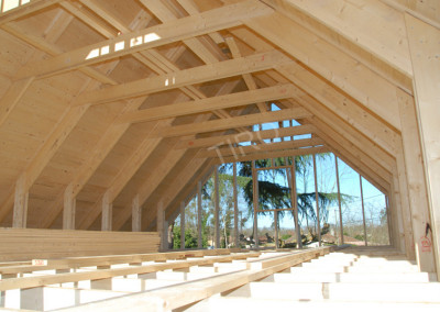 2-Rafters (45° roof trusses)