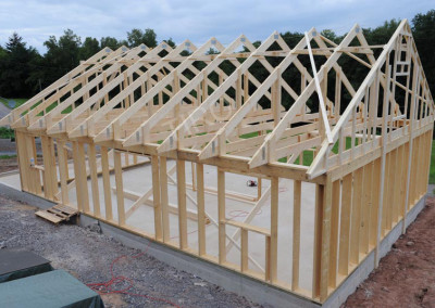 2-Roof trusses