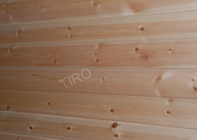 2-Planed panelling (pine)