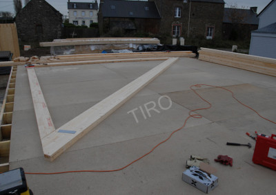 2-Bottom chord (45° roof truss)