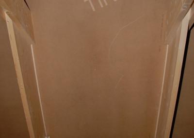 2-Hardboard panels for roof ventilation