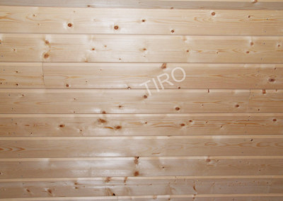 4-Planed panelling (spruce)
