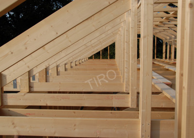 2-Rafters (30° roof trusses)