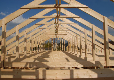 3-Roof trusses