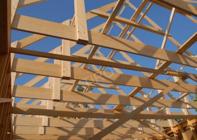 3-Bottom chord (45° roof truss)