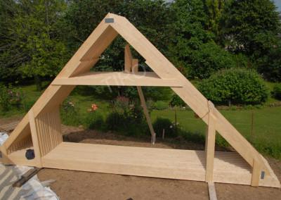 Roof truss 45°