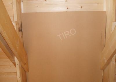 3-Hardboard panels for roof ventilation