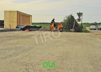 1-gravelled yard
