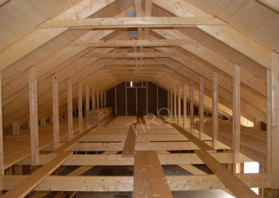 3-Rafters (30° roof trusses)