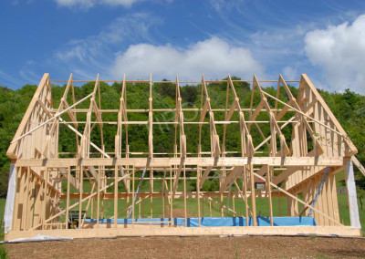 4-Roof trusses