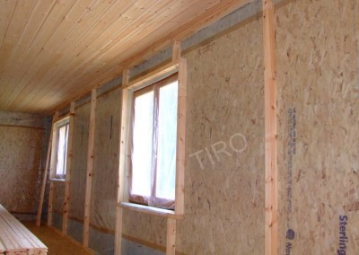 Studs for reinforced insulation