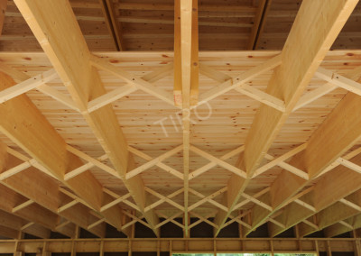 4-Bottom chord (45° roof truss)