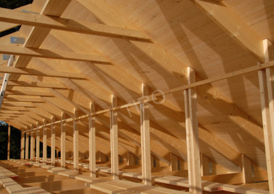 4-Rafters (30° roof trusses)