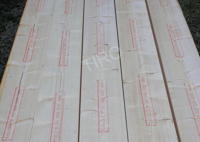 Stress graded timber