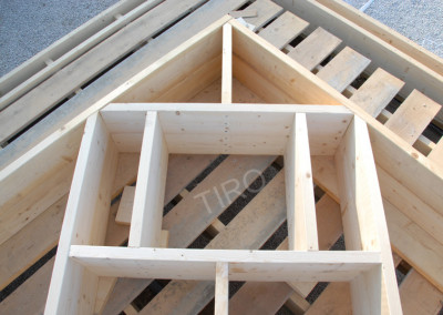 5-Gable points for 45° roof