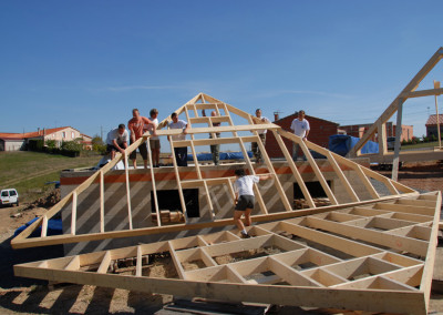 6-Gable points for 45° roof