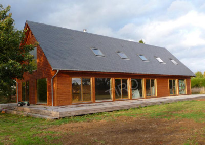 3-TIRO - Timber Frame Homes