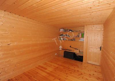 16-TIRO - Timber Frame Homes Interior