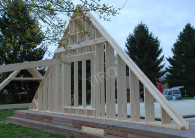 7-Gable points for 45° roof