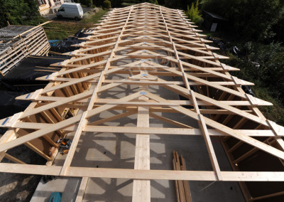 Roof truss 30°