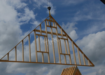 8-Gable points for 45° roof