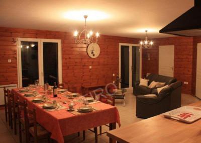 18-TIRO - Timber Frame Homes Interior