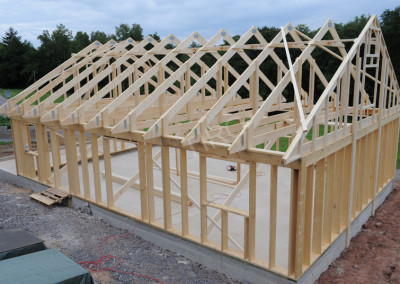 9-Roof truss 30°