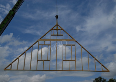 9-Gable points for 45° roof