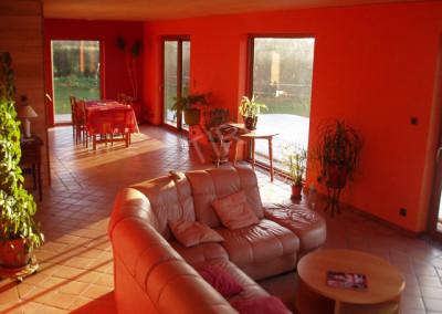 19-TIRO - Timber Frame Homes Interior
