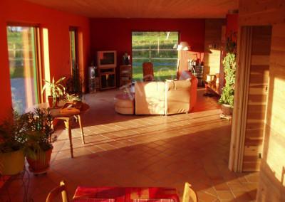 20-TIRO - Timber Frame Homes Interior