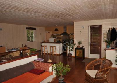 21-TIRO - Timber Frame Homes Interior
