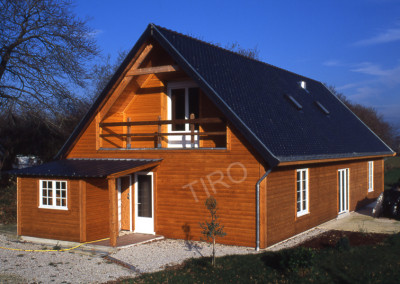 10-TIRO - Timber Frame Homes