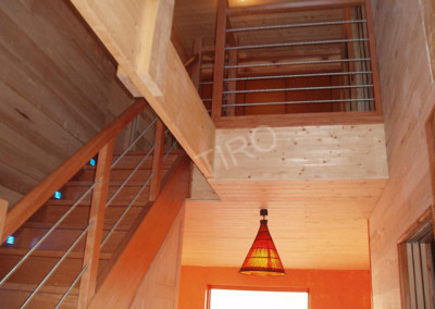 28-TIRO - Timber Frame Homes Interior