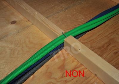 2-Floor joist framing on a crawl space