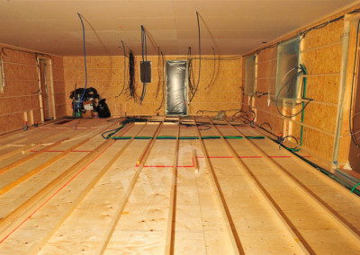 3-Floor joist framing on a crawl space