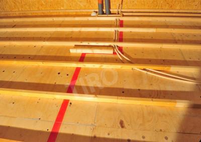 4-Floor joist framing on a crawl space