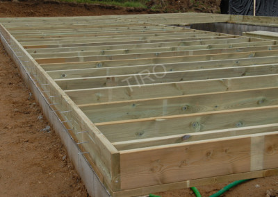 5-Floor joist framing for garages